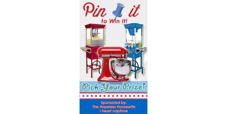 A Pick Your Prize Pin It To Win It Closed I Heart Nap Time