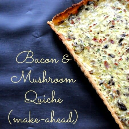 bacon and mushroom quiche recipe @cleverlyinspired (8)
