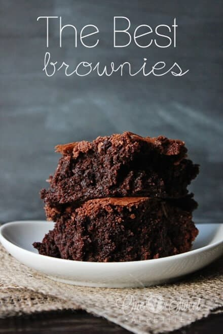Best brownies from One Sweet Appetite