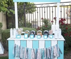 DIY ice cream stand ...so cute!