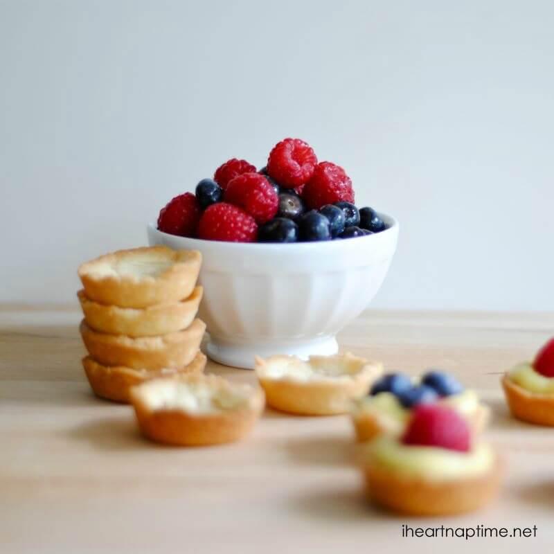 heart healthy fruits mini fruit tarts