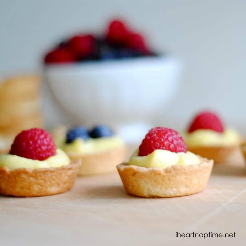 mini fruit tarts fruit pie recipes