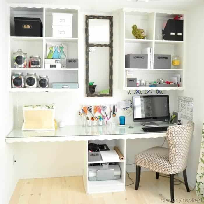 16 great home organizing ideas i heart nap time for Great office ideas
