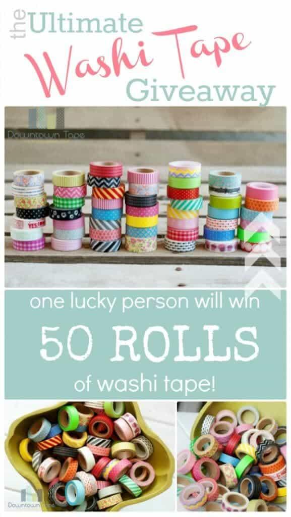 washi tape giveaway