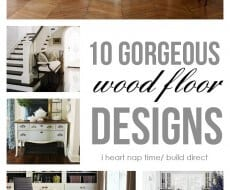 10 gorgeous wood floor designs
