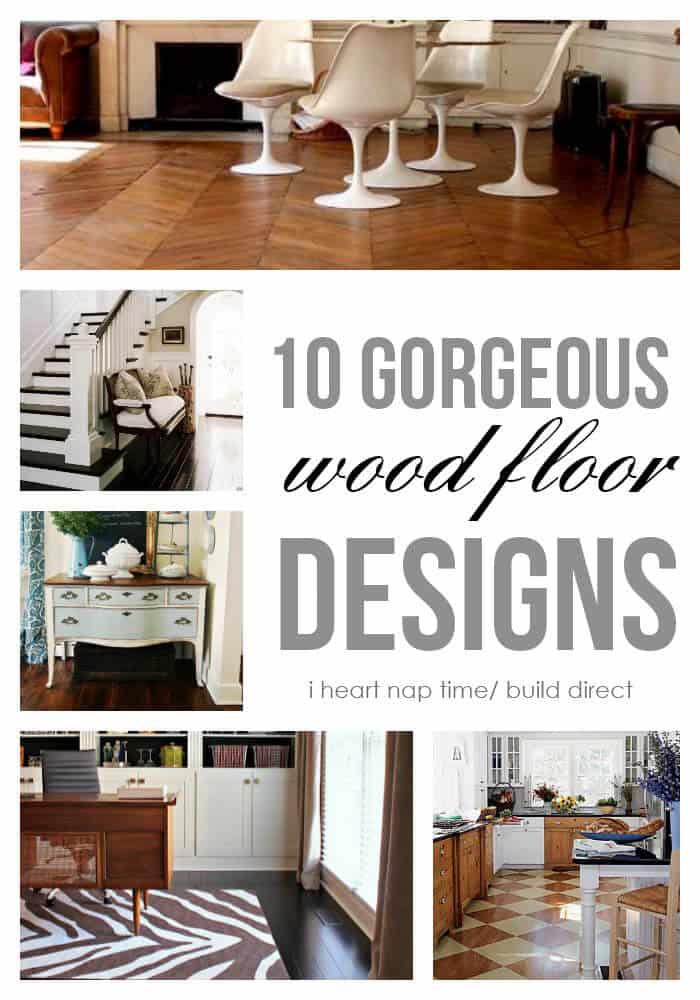 10 gorgeous wood floor designs - 10 Gorgeous Wood Floor Designs - I Heart Nap Time