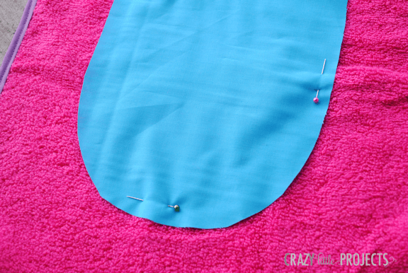 Butterfly Hooded Towel tutorial on I Heart Nap Time