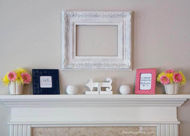 JC Penney Home collection styled by I Heart Nap Time w/ free printable!