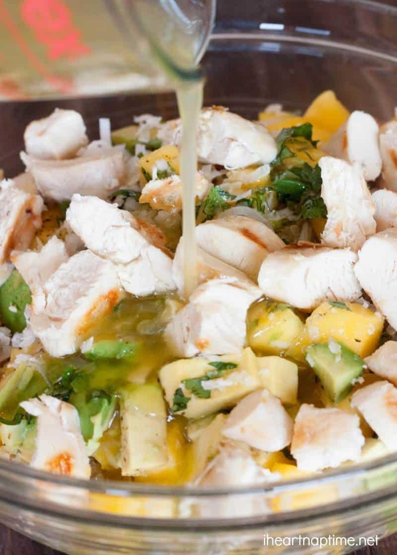 Mango Chicken Salad (1)