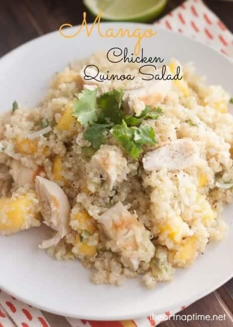 Mango Chicken Quinoa Salad {Hello Summer} » Mango Chicken Salad(2)