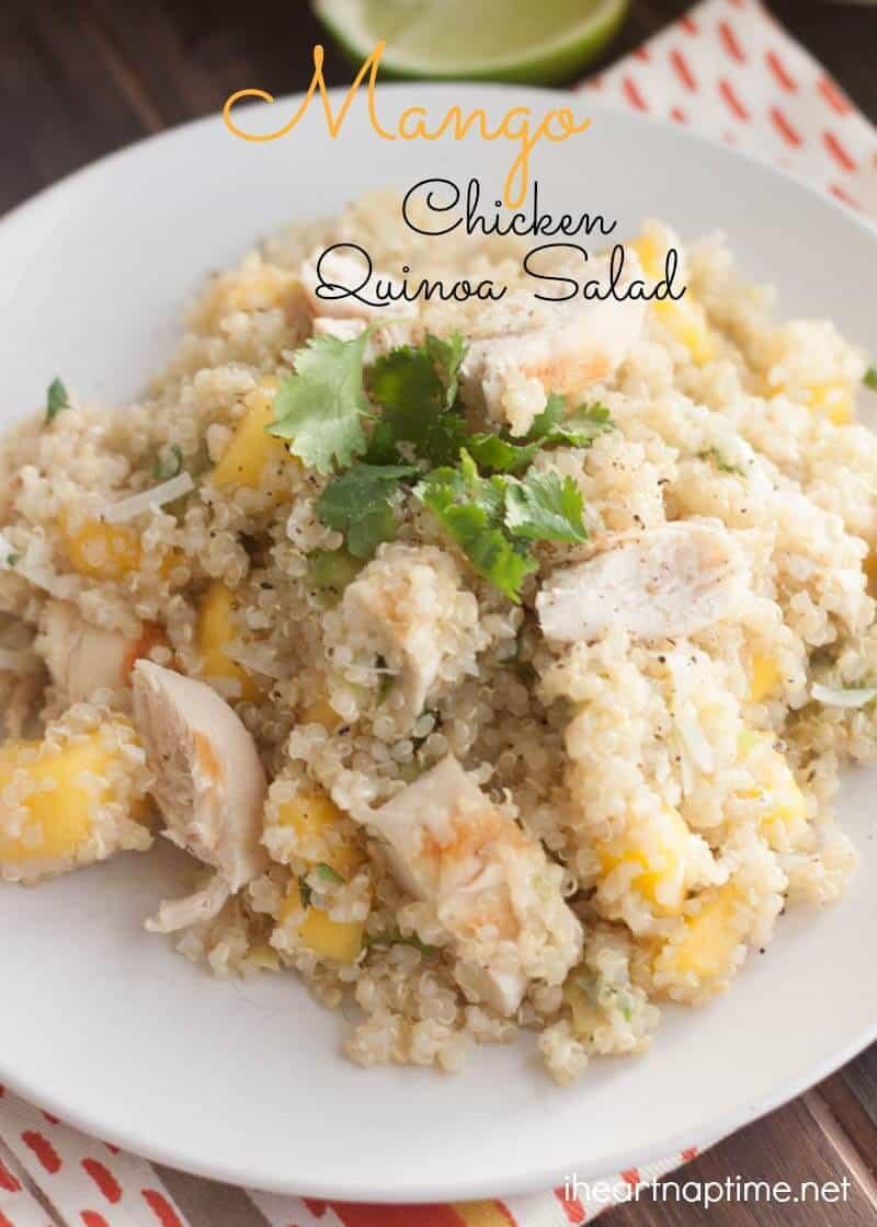Mango Chicken Salad(2)