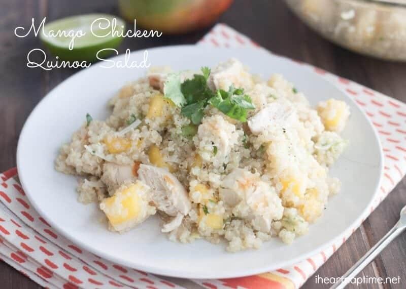 Mango Chicken Salad(4)