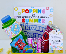 Popping By Free Summer Gift Prints from DimplePrints