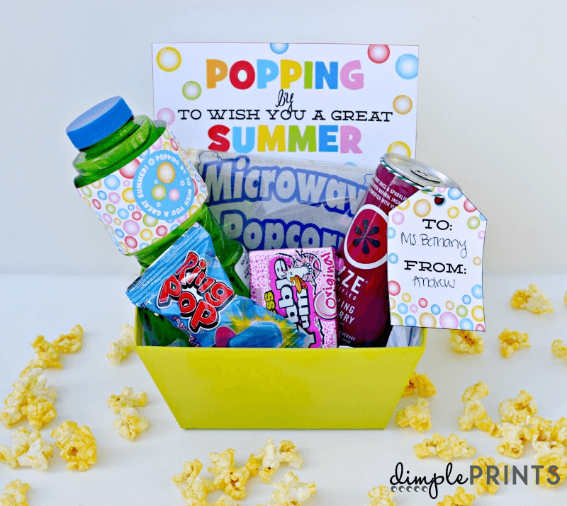 Popping By Gift Free Printable by DimplePrints on I Heart Nap Time