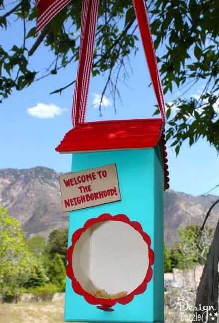 Juice Container Bird House on I Heart Nap Time