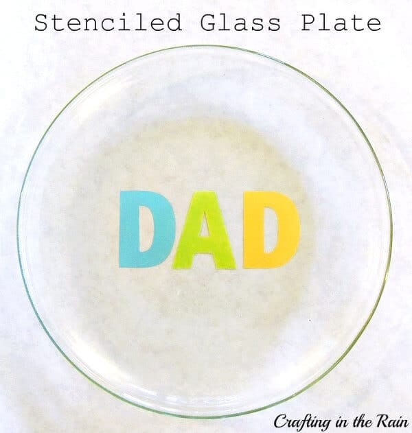 stenciled-glass-plate