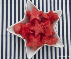 watermelon stars...the perfect addition to any 4th of July BBQ!