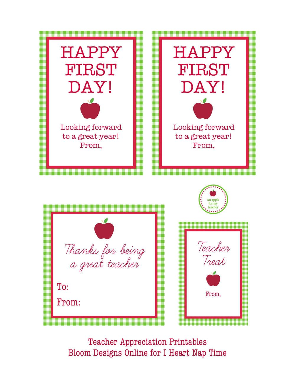 12 free back to printables i heart nap time