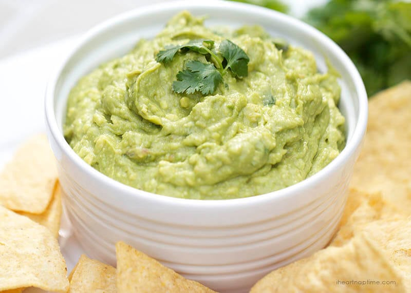 Easy Guacamole Recipe With Lime Recipes — Dishmaps
