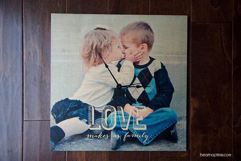 Diy Photo Clock And Gift Ideas I Heart Nap Time