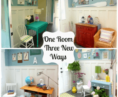 Entry Hall room 3 different ways