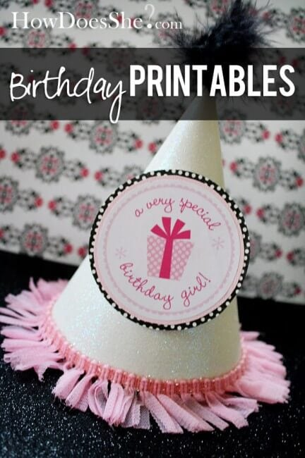 Cool 15 Free Birthday Printables I Heart Nap Time Funny Birthday Cards Online Benoljebrpdamsfinfo