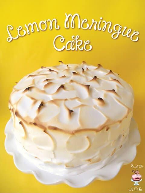 Lemon Meringue Cake text