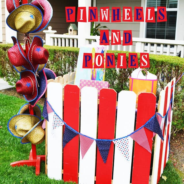 Pony Party Gift Table Linky Photo