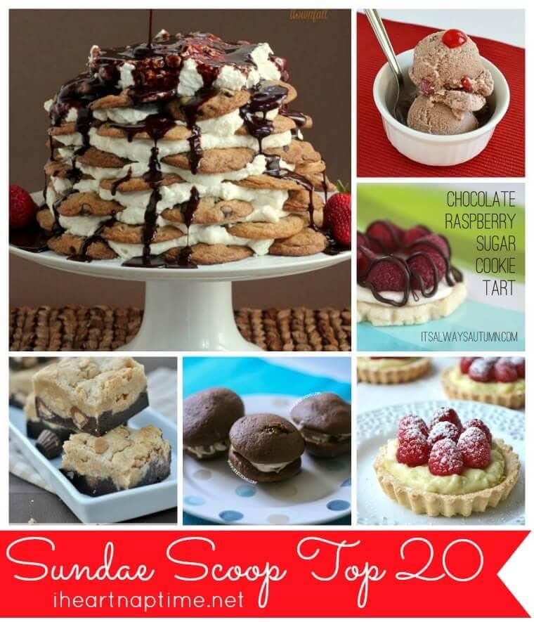 Top 20 Sundae Scoop