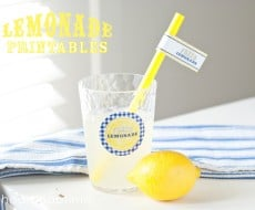 lemonade stand printables