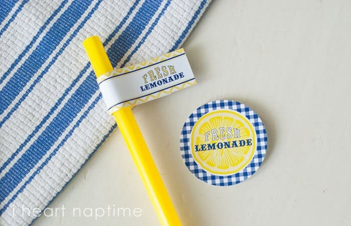 lemonade stand free printable labels