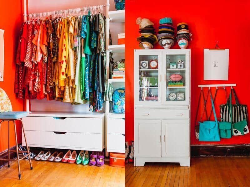 Nice Color Closet