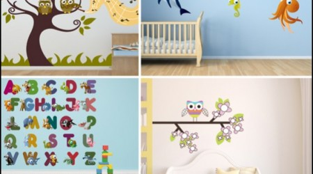 custom wall decals - kids