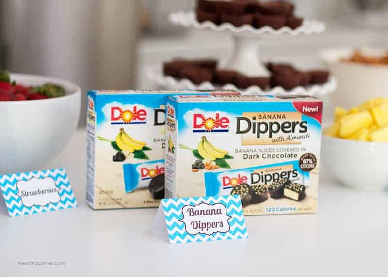 Party with Dole Banana Dippers