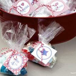 forth of july favors with free printable