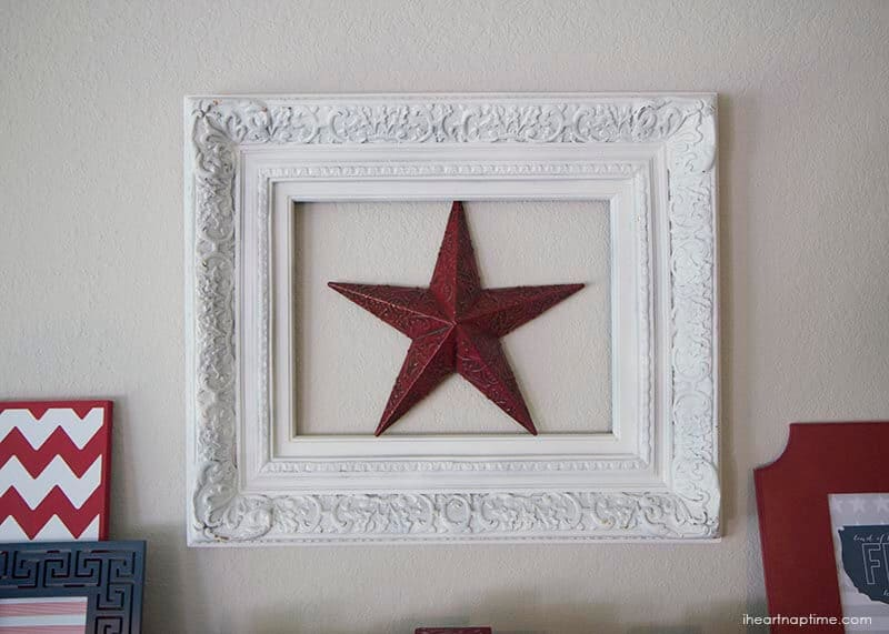 forth of july mantel