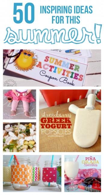 50 inspiring ideas for summer...a must see list!