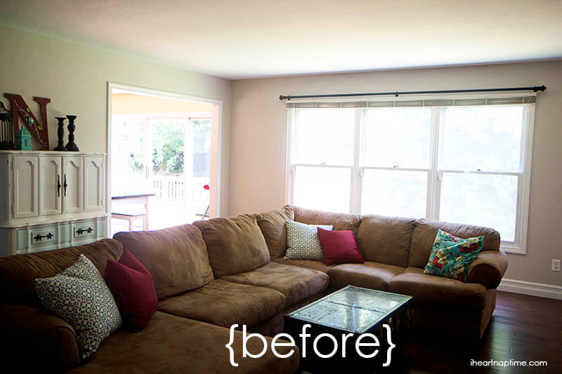 30 day living room makeover i heart nap time for Living room makeover