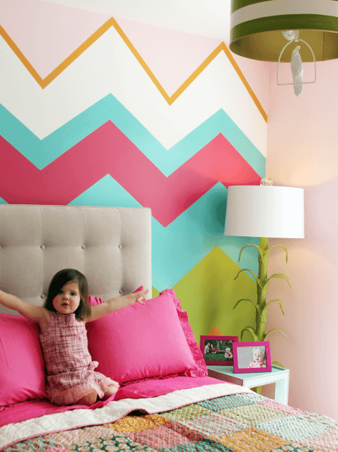 lucy and co3 chevron wall