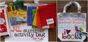 summer activity bag
