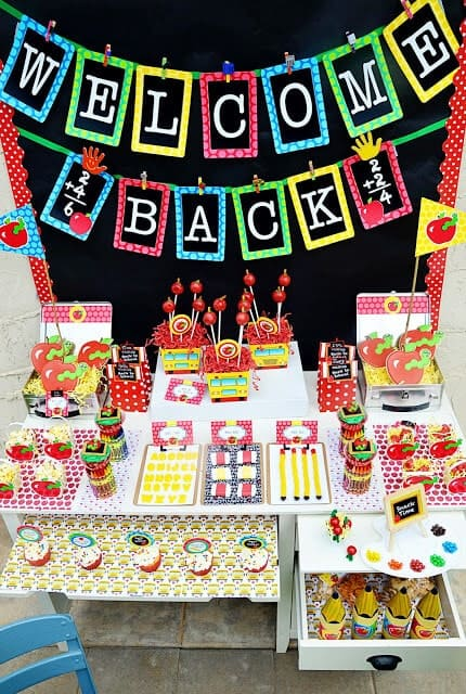 50 best back to school celebration ideas i heart nap time for Back to school decoration ideas