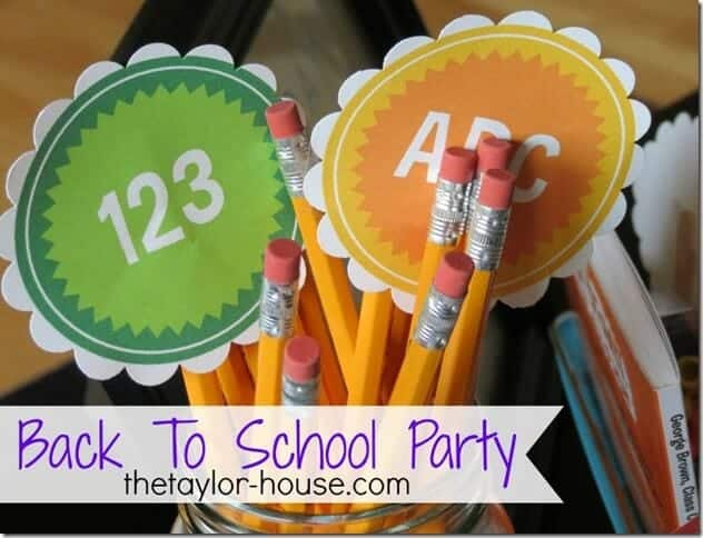 50 BEST Back to School Celebration Ideas 24