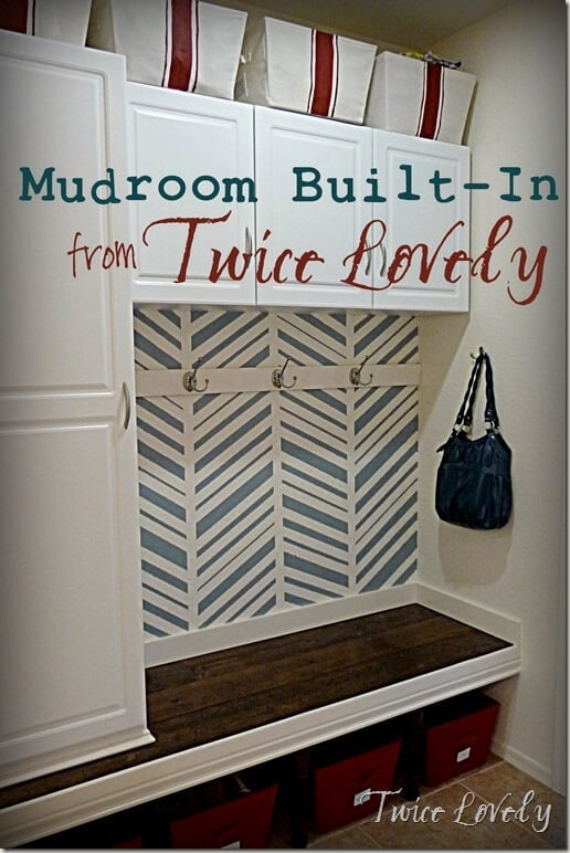 Awesome Mudroom Built-In from Twice Lovely_thumb