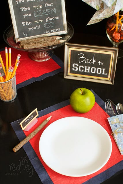 Back to School Party Decorations