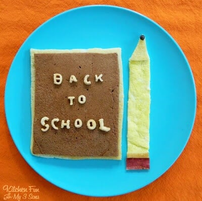 BacktoSchoolPancakes