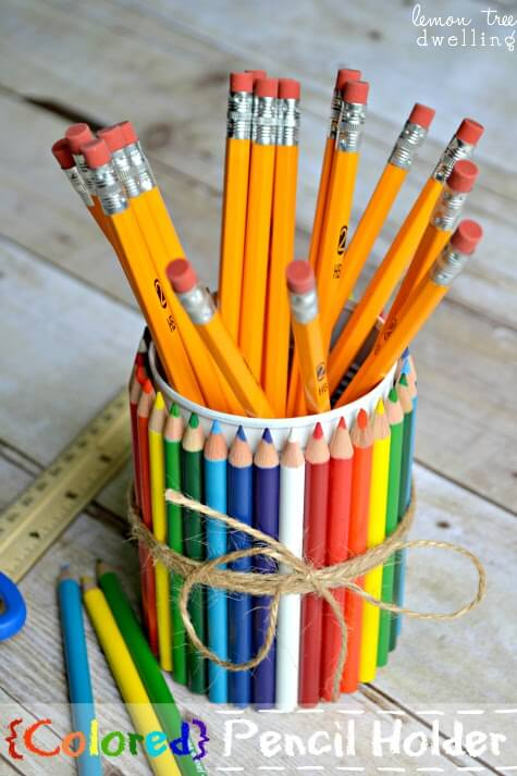 Colored Pencil Holder 1