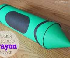 """Back to School"" Crayon Favor"
