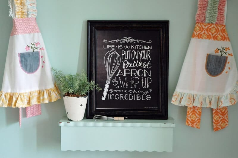 Adorable chalkboard kitchen art free download ...LOVE this!
