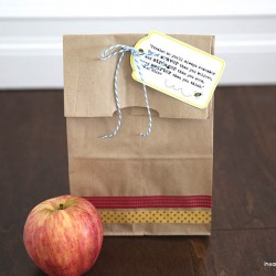 Free printable lunch tag