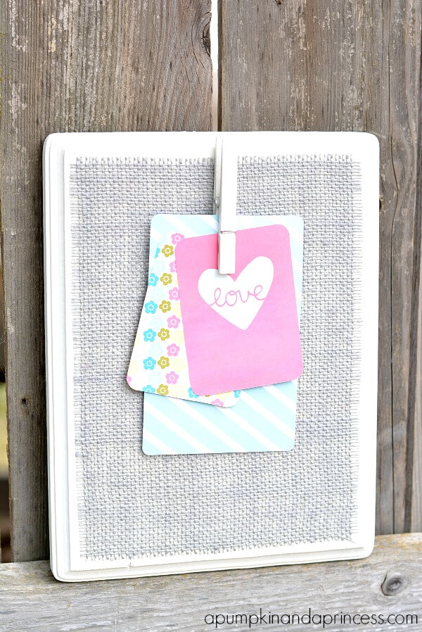 Grey-Burlap-Clothespin-Memo-Board1